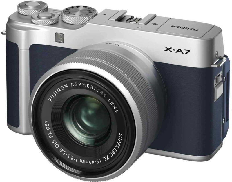 Fujifilm X Series X-A7 Mirrorless Camera Body With 15-45 mm Lens(Blue)