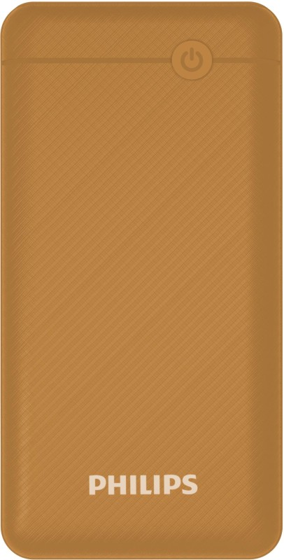 Philips 20000 mAh Power Bank (Quick Charge 3.0, 18 W)(Brown, Lithium Polymer)