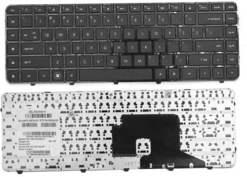 Rega IT HP PAVILION DV6-3141EA, DV6-3141ED Laptop Keyboard Replacement Key