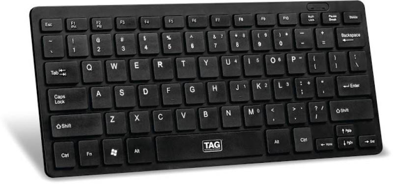 TAG Chocolate Wired USB Laptop Keyboard(Black) image