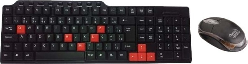 Quantum QHM8810 Wired USB Laptop Keyboard(Black)