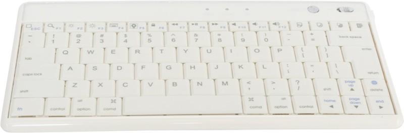 G & S Enterprises GSK01 Bluetooth Laptop Keyboard(White) image