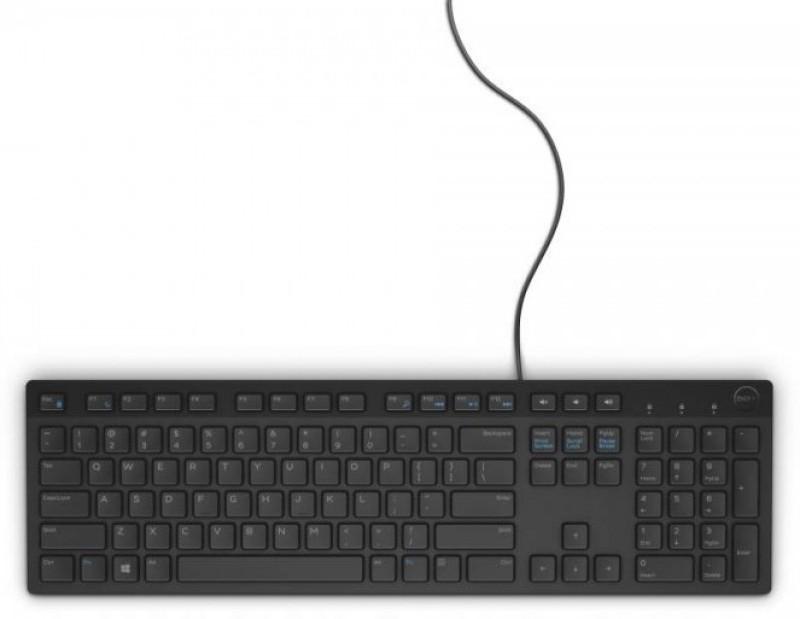 Dell KB 216 Wired USB Laptop Keyboard(Black) Dell KB216