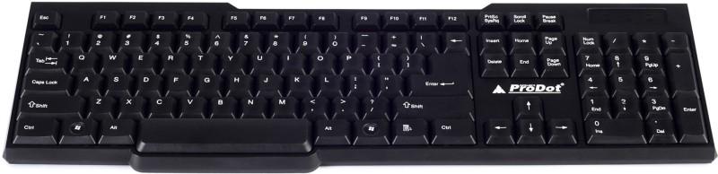 ProDot 207 USB Wired USB Laptop Keyboard image