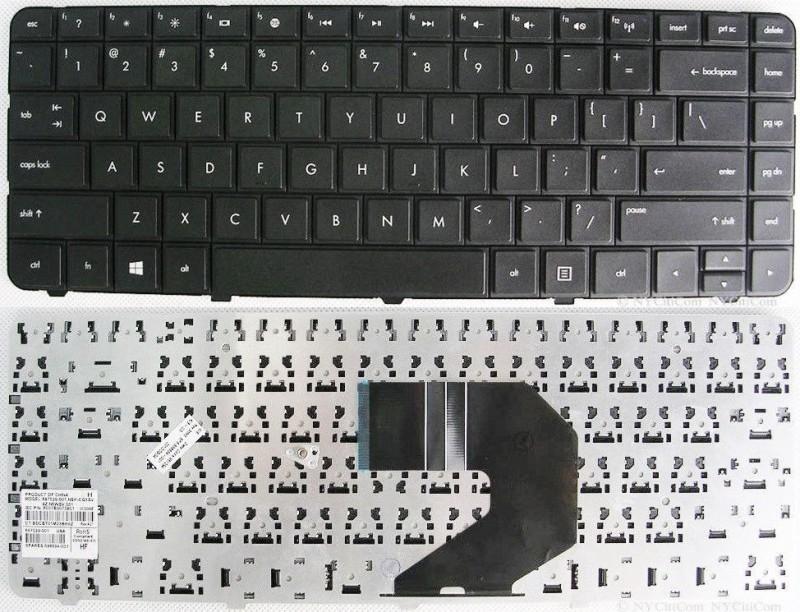 HP HP PAVILION G6-1200TX, G6-1201AU Laptop Keyboard Replacement Key Internal Laptop Keyboard(Black) image