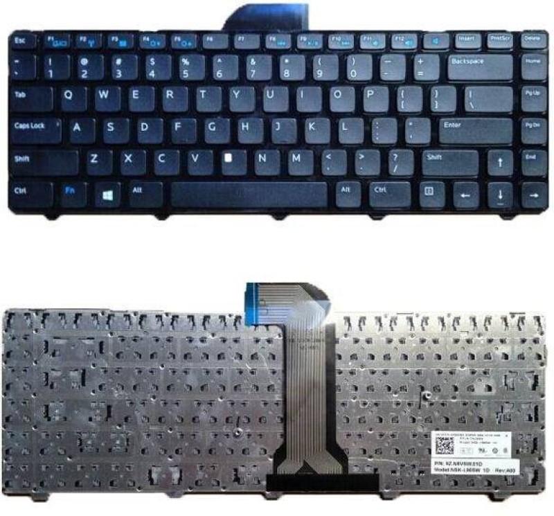 Laprise For Dell Inspiron 14 3421 Internal Laptop Keyboard(Black) image