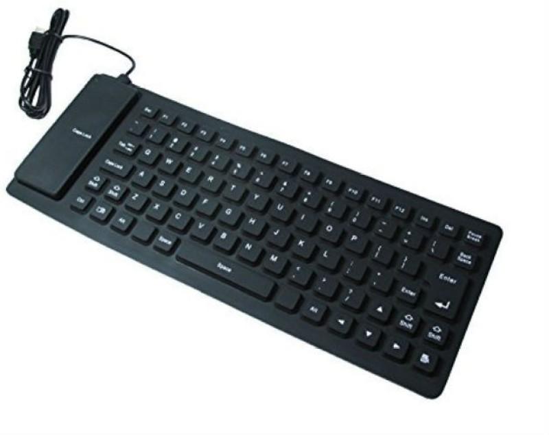 Shrih SH-03088 Wired USB Laptop Keyboard(Black) image