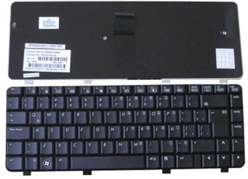 HP COMAQ CQ40 CQ41 CQ45 CQ40-100 CQ45-100 CQ45-200 Internal Laptop Keyboard(Black) image