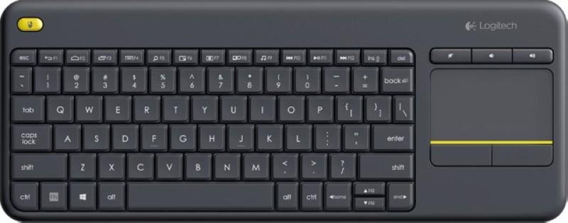 Logitech PN 920-0071192 Wireless Laptop Keyboard(Black) image
