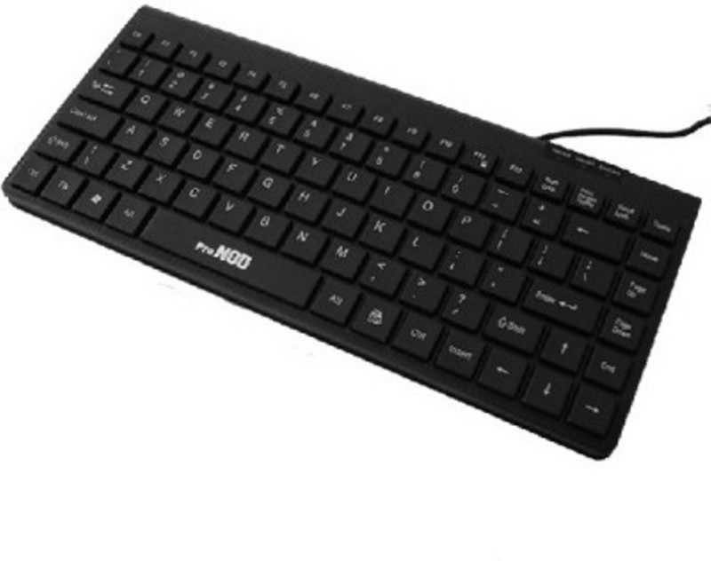 HashTag Glam 4 Gadgets HT SLMKBDUSB 394 Wired USB Tablet Keyboard(Black)