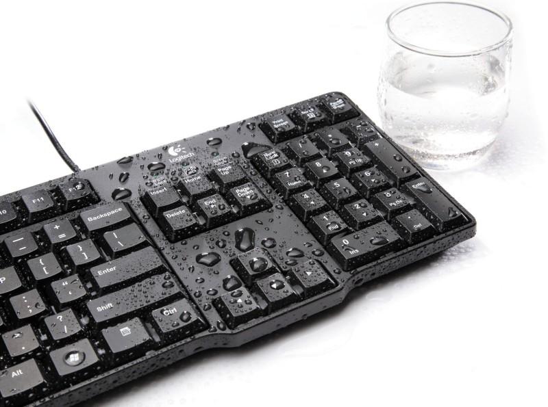 Logitech K100 Classic PS2 Desktop Keyboard image