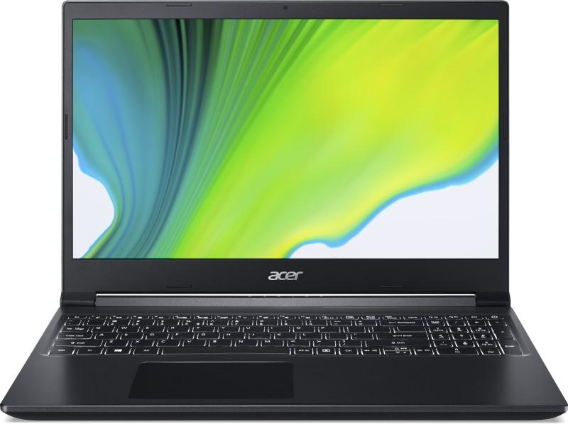 Acer Aspire 7 Ryzen 7 Quad Core 3750H - (8 GB/512 GB SSD/Windows 10 Home/4 GB Graphics/NVIDIA Geforce GTX 1650/60 Hz) A715-41G-R9AE Gaming Laptop(15.6 inch, Charcoal Black, 2.15 kg)