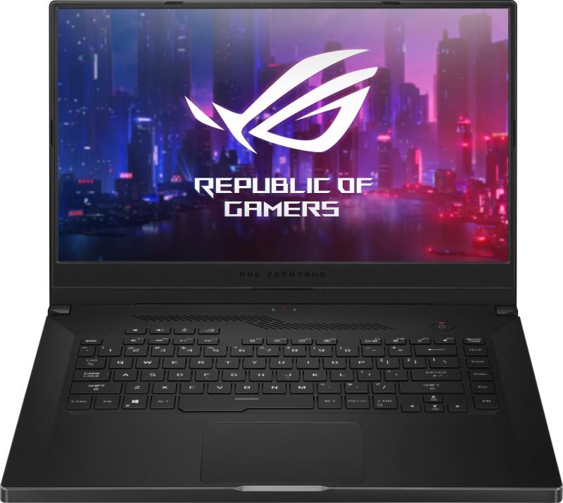 Asus ROG Zephyrus G Ryzen 7 Quad Core 3750H - (16 GB/512 GB SSD/Windows 10 Home/6 GB Graphics/NVIDIA Geforce GTX 1660 Ti with Max-Q Design/144 Hz) GA502DU-HN100T Gaming Laptop(15.6 inch, Black, 2.10 kg)
