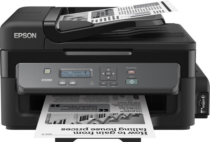 Epson M205 Multi-function WiFi Monochrome Printer(Black, Ink Bottle)