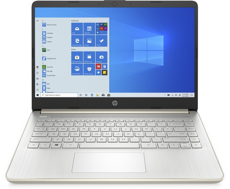 HP 14s Core i5 11th Gen - (8 GB/512 GB SSD/Windows 10 Home) 14s-DR2006TU Thin and Light Laptop(14 inch, Pale Gold, 1.46 kg, With MS Office)