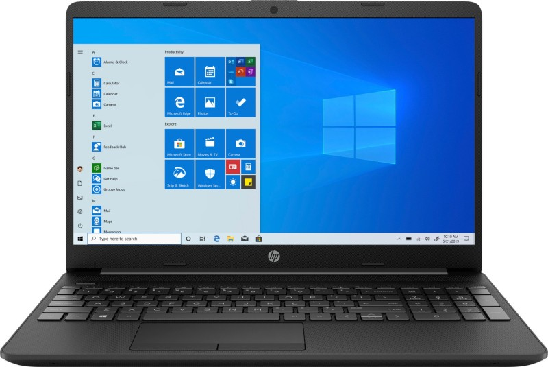 HP 15s Ryzen 5 Quad Core 3450U - (8 GB/1 TB HDD/Windows 10 Home) 15s-GR0010AU Thin and Light Laptop(15.6 inch, Jet Black, 1.76 kg, With MS Office)