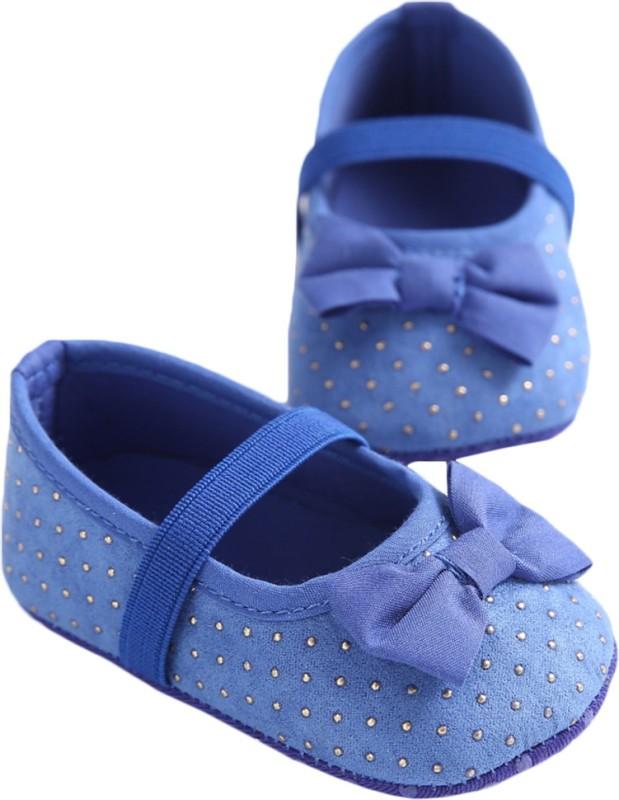 abdc kids Girls Strap Formal Boots(Blue)