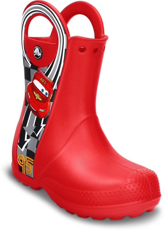 Crocs Boys Slip on Casual Boots(Red)