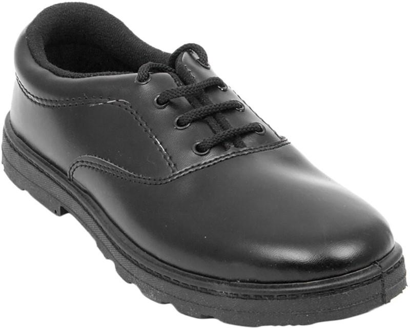 Weston Boys Lace Derby Shoes(Black)