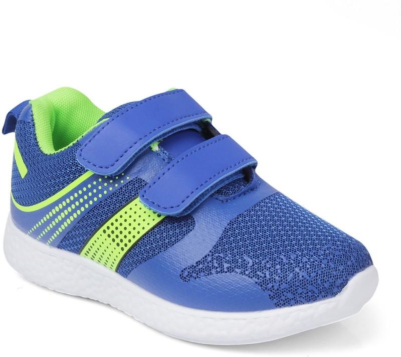 Kittens Boys Velcro Loafers(Dark Blue)