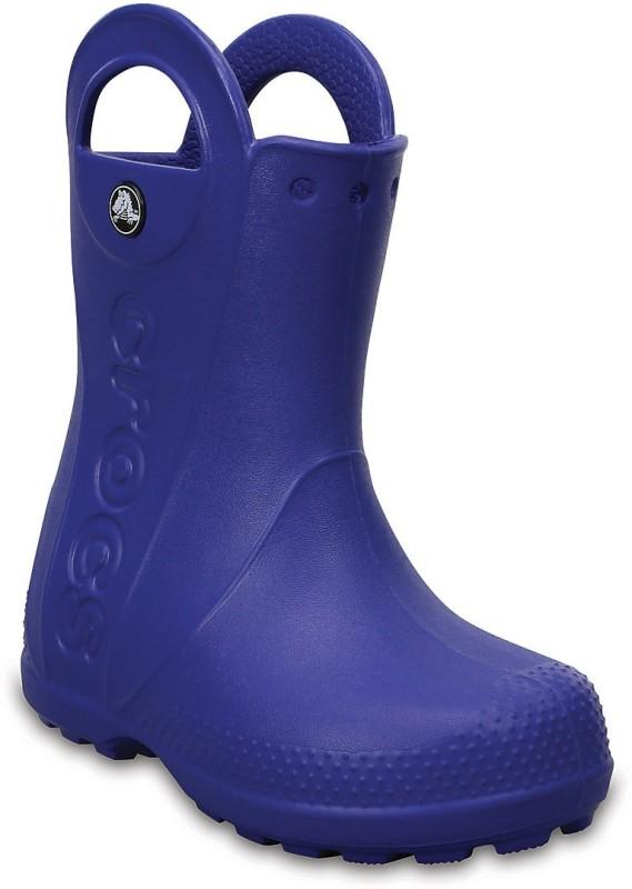 Crocs Boys & Girls Slip on Casual Boots(Blue)