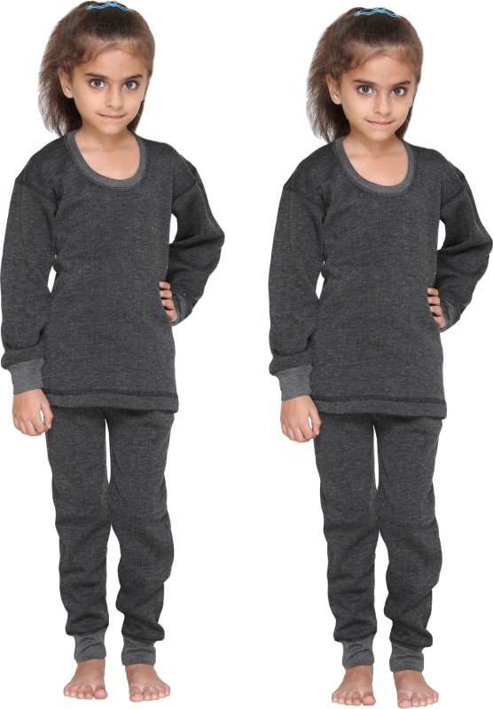 Vimal Top - Pyjama Set For Girls(Black, Pack of 4)