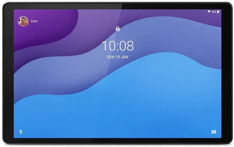 Lenovo Tab M10 (HD) 2nd Gen 4 GB RAM 64 GB ROM 10.1 inch with Wi-Fi+4G Tablet (Platinum Grey)