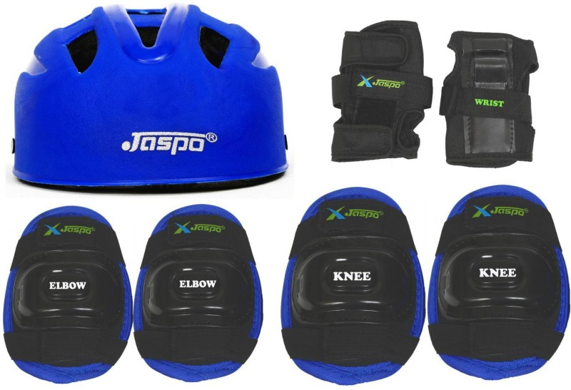 Jaspo jaspo SX 4 protective set blue Skating Kit