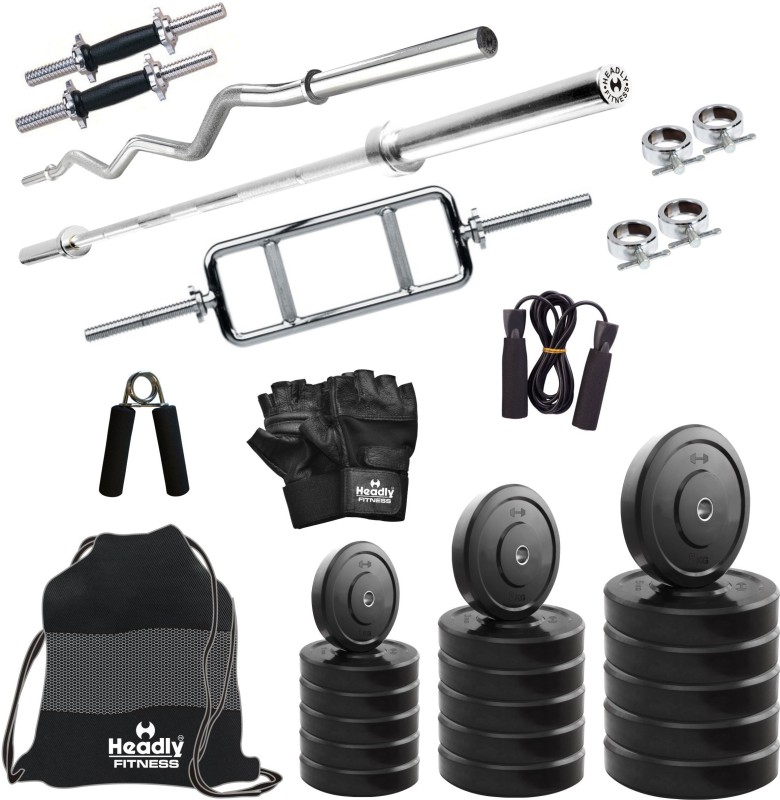 Headly 20 kg Combo BB 1 Convenient Home Gym Kit