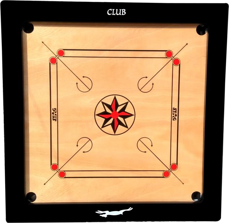 Stag CLUB Carrom board Carrom Kit