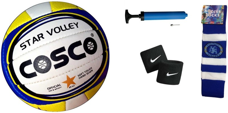 Cosco Star Volleyball Combo Volleyball Kit