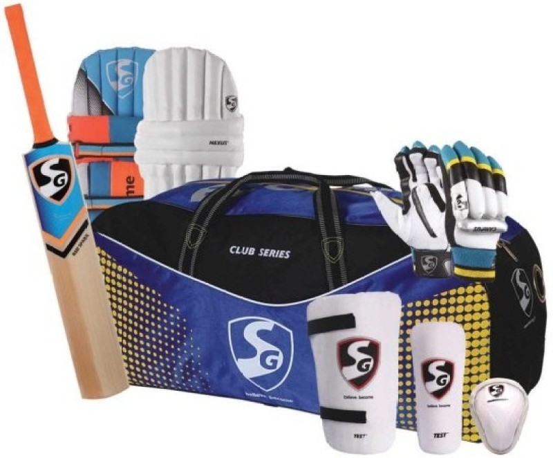 SG Kashmir Economy For Youth Cricket Kit(Bat Size: 6 (Age Group 11 - 13 Years))