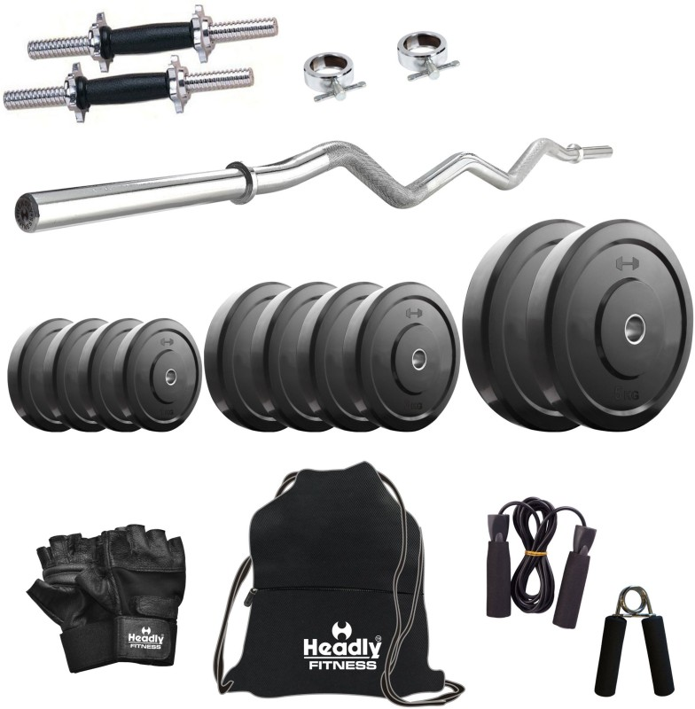 Headly 22 kg Combo 3 Home Home Gym Kit