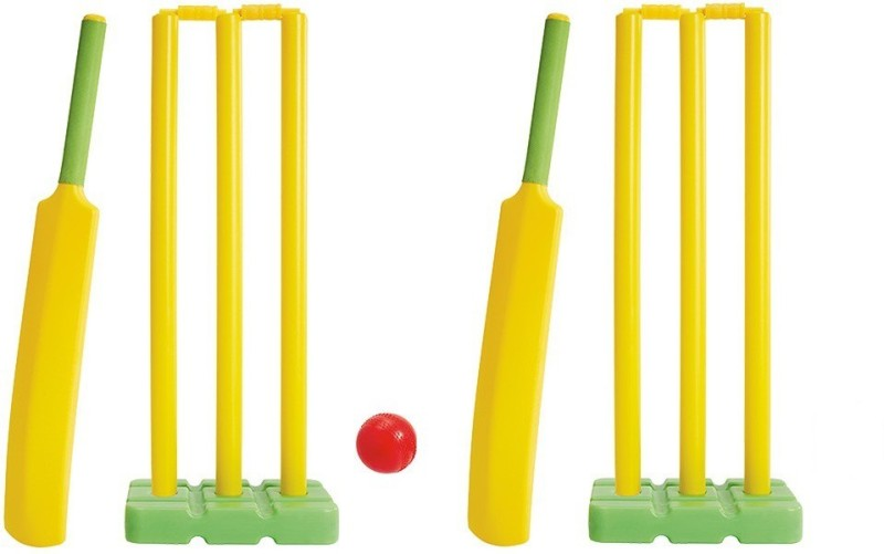 Navex Plastic Cricket Kit Full Size (15 Pieces) set Cricket Kit