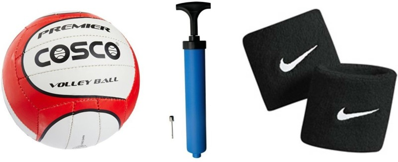 Cosco Premier Volleyball Combo Volleyball Kit