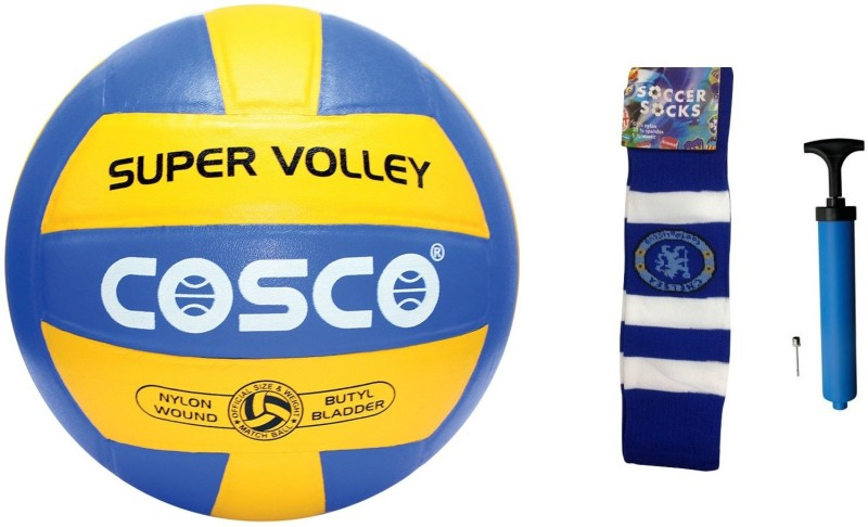 Cosco Super Volleyball Combo Volleyball Kit