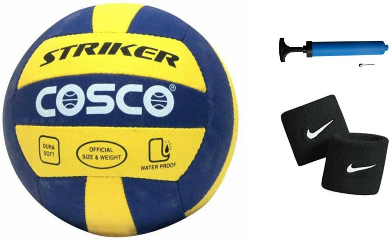 Cosco Striker Volleyball Combo Volleyball Kit