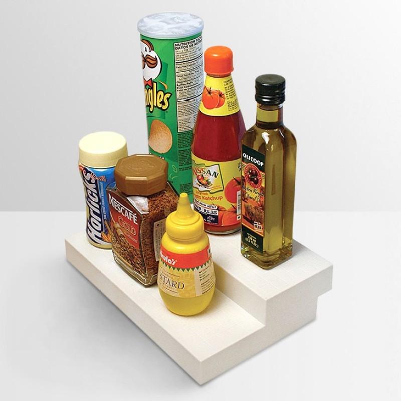 Disha Marketing Plastic Kitchen Rack(White)