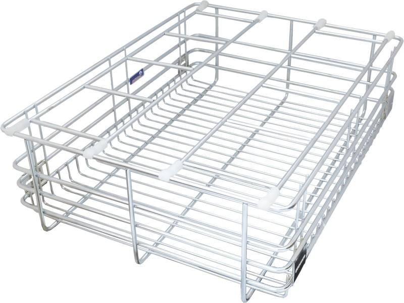 Taj Stainless Steel Kitchen Rack(Silver)