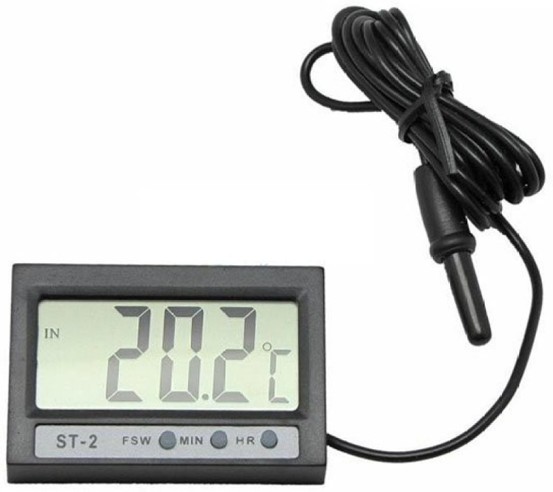 NP Plastics Indoor Outdoor room Instant Read Thermocouple Kitchen Thermometer