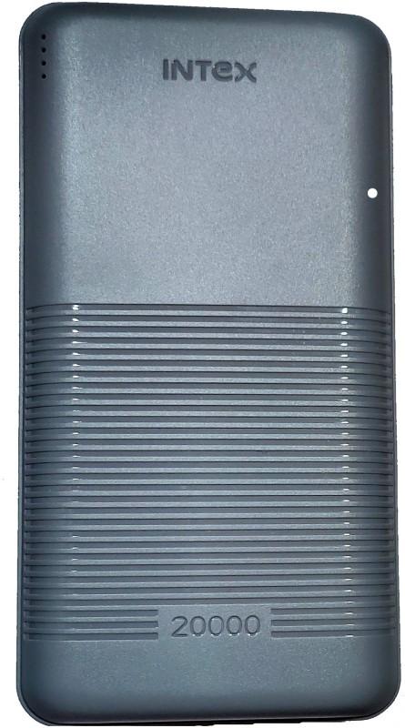 Intex 20000 mAh Power Bank(Enamel Grey, Lithium Polymer)