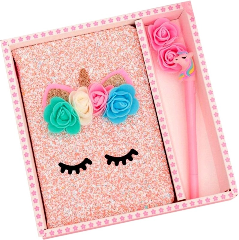 komto Gift Set Regular Diary Ruled 90 Pages(Multicolor)