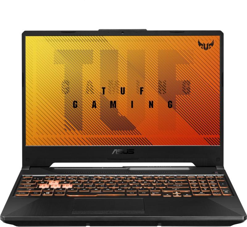 ASUS TUF Gaming F15 Core i7 10th Gen - (8 GB/512 GB SSD/Windows 10 Home/4 GB Graphics/NVIDIA GeForce GTX 1650 Ti/144 Hz) FX506LI-HN109TS Gaming Laptop(15.6 inch, Black Plastic, 2.30 kg, With MS Office)