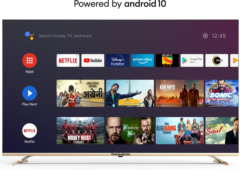 Thomson 108 cm (43 inch) Ultra HD (4K) LED Smart Android TV with Dolby Vision and Dolby Digital Plus(43 OATHPRO 2000)