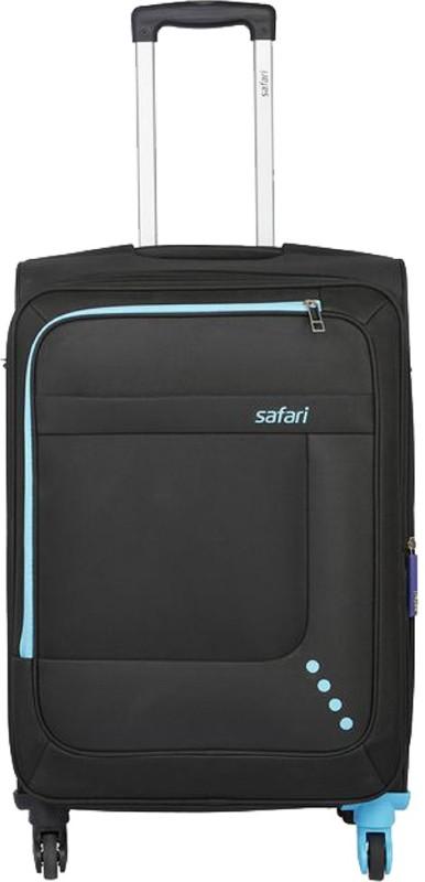 SAFARI STAR 75 4W BLACK Expandable  Check-in Luggage - 30 inch