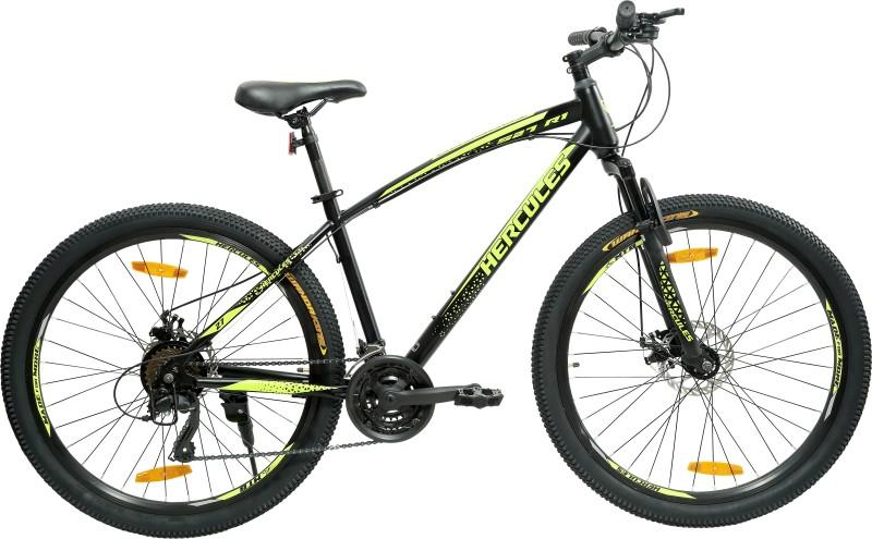 HERCULES TOP GEAR-S27 R1 27.5 T Mountain Cycle(21 Gear, Black)