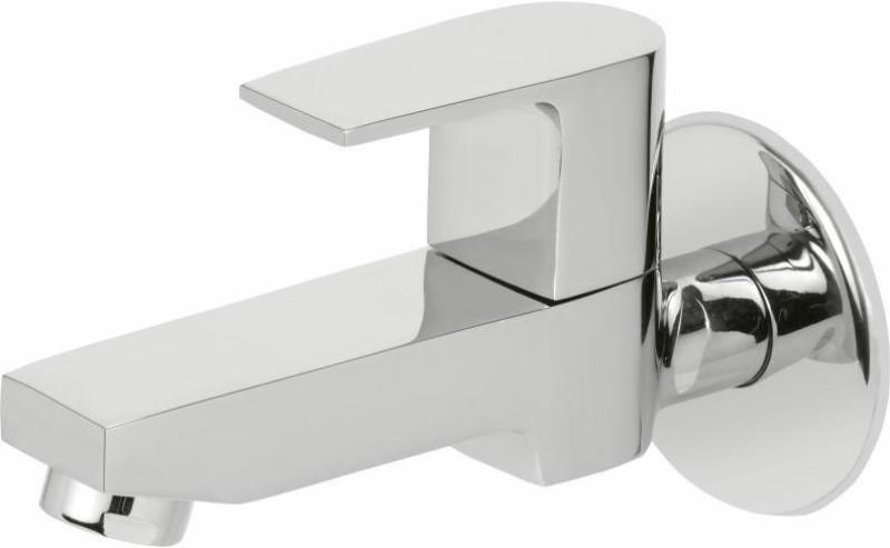 Vviya Bib Tap Brass Metal With Chrome Platting Luxurious Bathroom, Kitchen with Foam Flow Bib Tap Faucet(Wall Mount Installation Type)