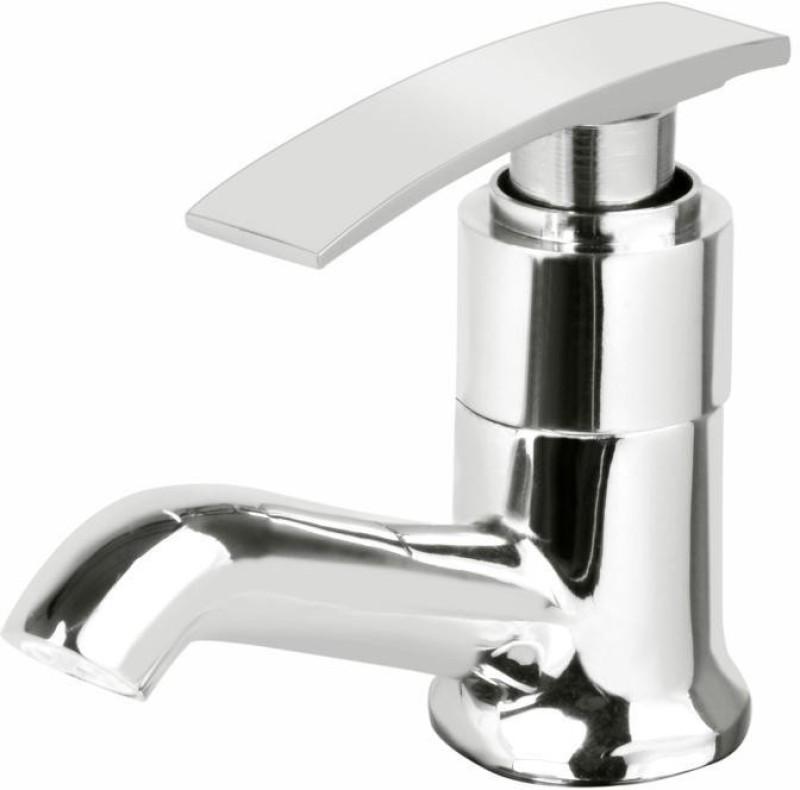 Vviya Luxurious Piller Tap Bathroom, Kitchen Bib Tap with Foam Flow Brass Metal With Chrome Platting Piller tap Pillar Tap Faucet(Deck Mount Installation Type)
