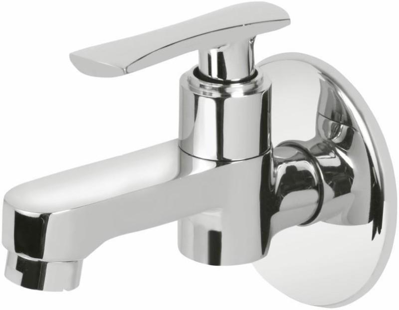 Vviya Brass Metal With Chrome Platting Luxurious Bathroom, Kitchen Tap with Foam Flow Bib Tap Faucet(Wall Mount Installation Type)