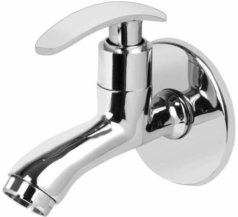 Vviya Chrome Platting Bib Tap Bathroom, Kitchen Bib Tap with Foam Flow Brass Metal Bib Tap Bib Tap Faucet(Wall Mount Installation Type)